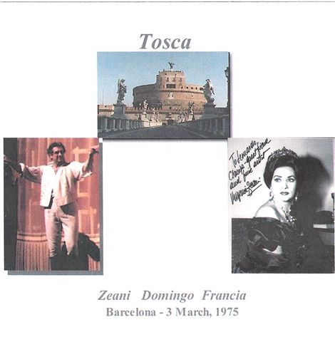 Cover of Tosca